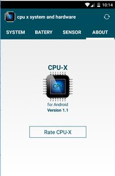 cpu x system and hardware screenshot 6