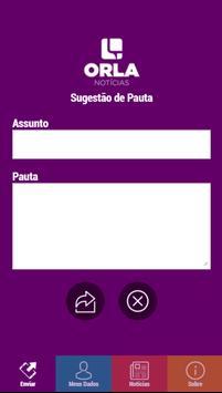 Orla Notícias screenshot 1