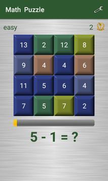 Math Puzzle screenshot 1