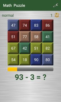 Math Puzzle screenshot 2
