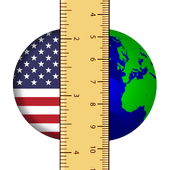 US/Metric unit converter icon