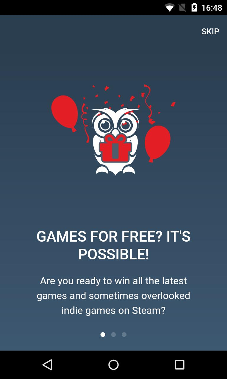 Orlygift Get FREE Steam Games! for Android - APK Download