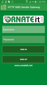 HTTP SMS SENDER GATEWAY screenshot 1