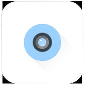 Detective camera icon