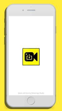 SnapSaver : Snap downloader poster