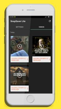 SnapSaver : Snap downloader screenshot 1