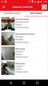 Armaan Charities screenshot 2