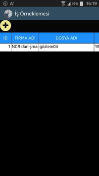 İŞ ÖRNEKLEMESİ poster