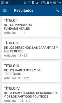 Constitución de Colombia screenshot 3