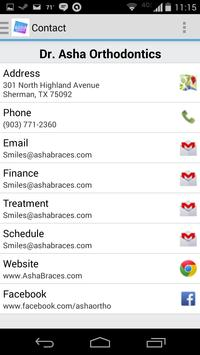 Dr. Asha Orthodontics apk screenshot
