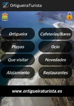 Ortigueira Turista poster