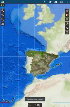 Mapas de España poster