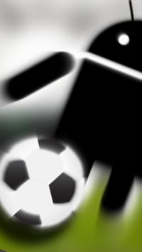 Magnet Fußball Icon poster
