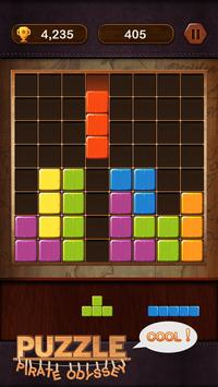 Block Puzzle - Pirate Odyssey screenshot 1