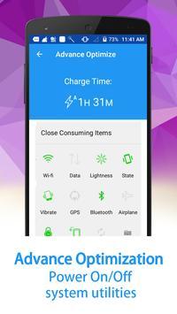 Battery Saver (Power Defender) screenshot 13
