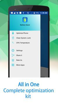 Battery Saver (Power Defender) screenshot 1