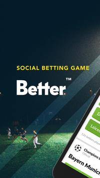 Better: Social Betting Game poster