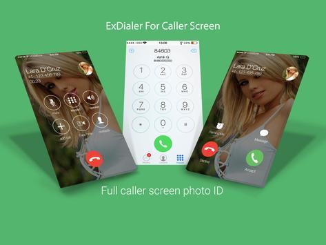 ExDialer For OS9 Caller Screen poster