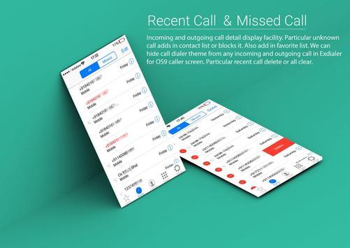 ExDialer For OS9 Caller Screen screenshot 1