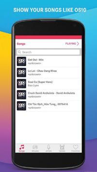 iMusic Player Iphone7 - OS10 apk screenshot