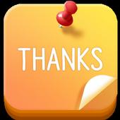 Thanks Diary icon