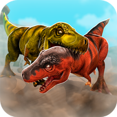 Jurassic Run Attack - Dinosaur Era Fighting Games icon