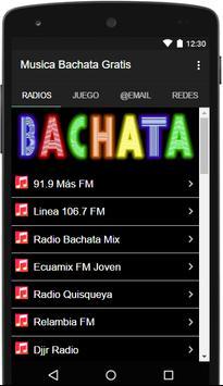 Musica Bachata Gratis poster