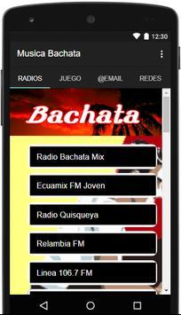 Musica Bachata screenshot 4