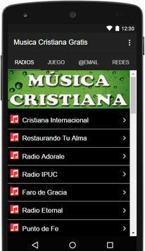 Musica Cristiana Gratis apk screenshot