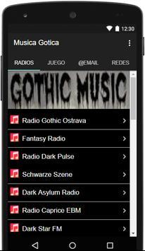 Musica Gotica poster