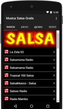 Musica Salsa Gratis poster