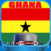 Ghana Radio Stations Live icon