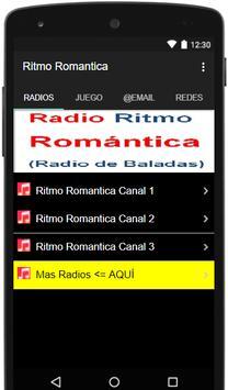 Radio Ritmo Romantica screenshot 4
