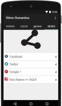 Radio Ritmo Romantica screenshot 2
