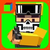 Gun Battle Pixel Field 3D icon
