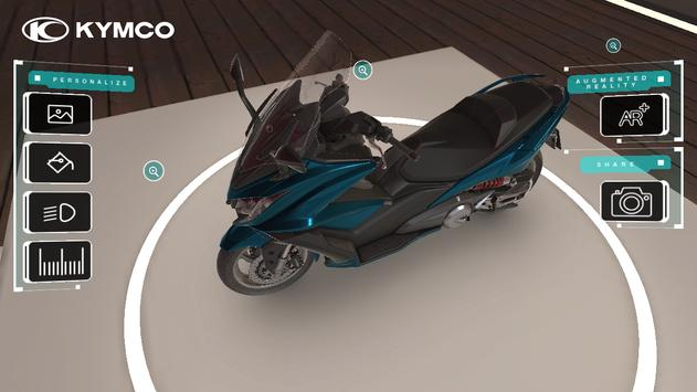 Kymco AK 550 apk screenshot