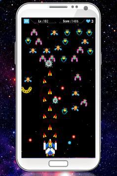 Galaxia Attack:Space Invaders screenshot 2