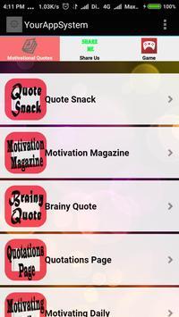Motivational Quote screenshot 3
