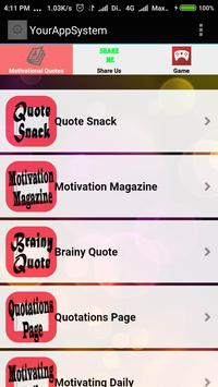 Motivational Quotes RSS Feed screenshot 3