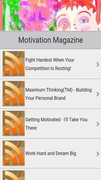 Motivational Quotes RSS Feed screenshot 1