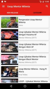 Usop Mentor Milenia screenshot 1