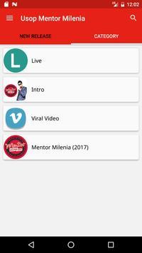 Usop Mentor Milenia screenshot 2