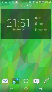Flat Triangles Live Wallpaper screenshot 3