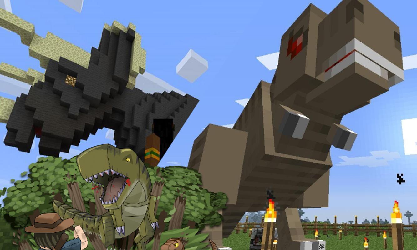 Mod Dinosaur Minecraft APKDownload Kostenlos Lernspiele - Minecraft fubball spielen deutsch