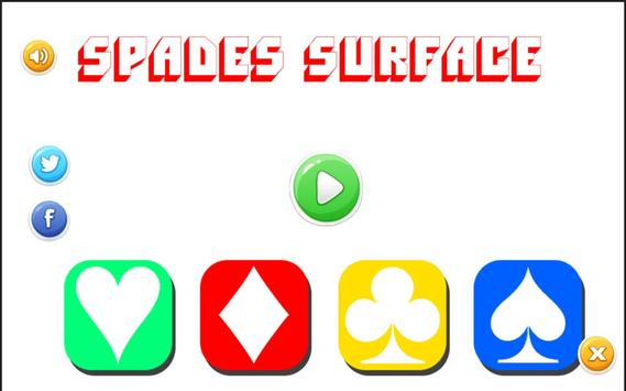 Spades Surface Free screenshot 5