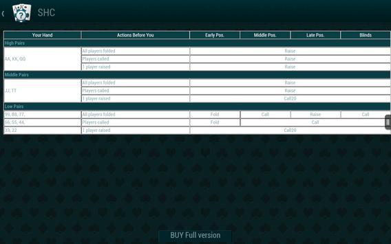 Poker Guide HD screenshot 10