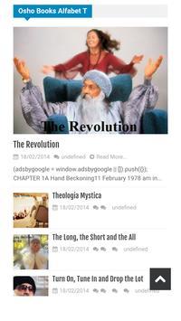 Osho Books English screenshot 1