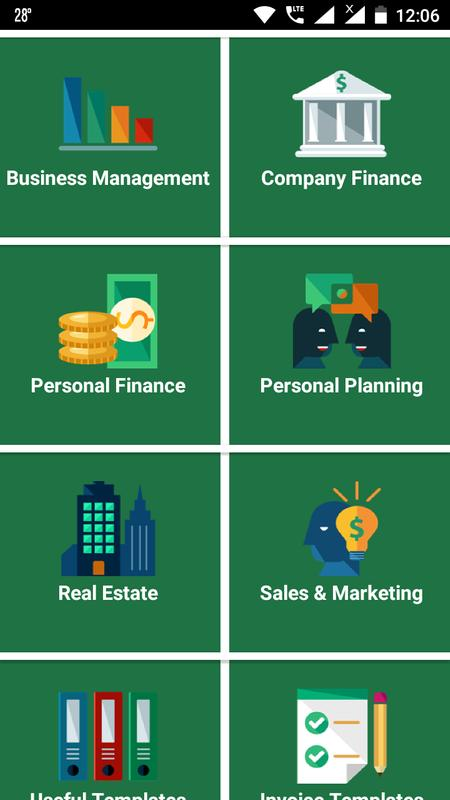Great Excel Templates For Android Apk Download