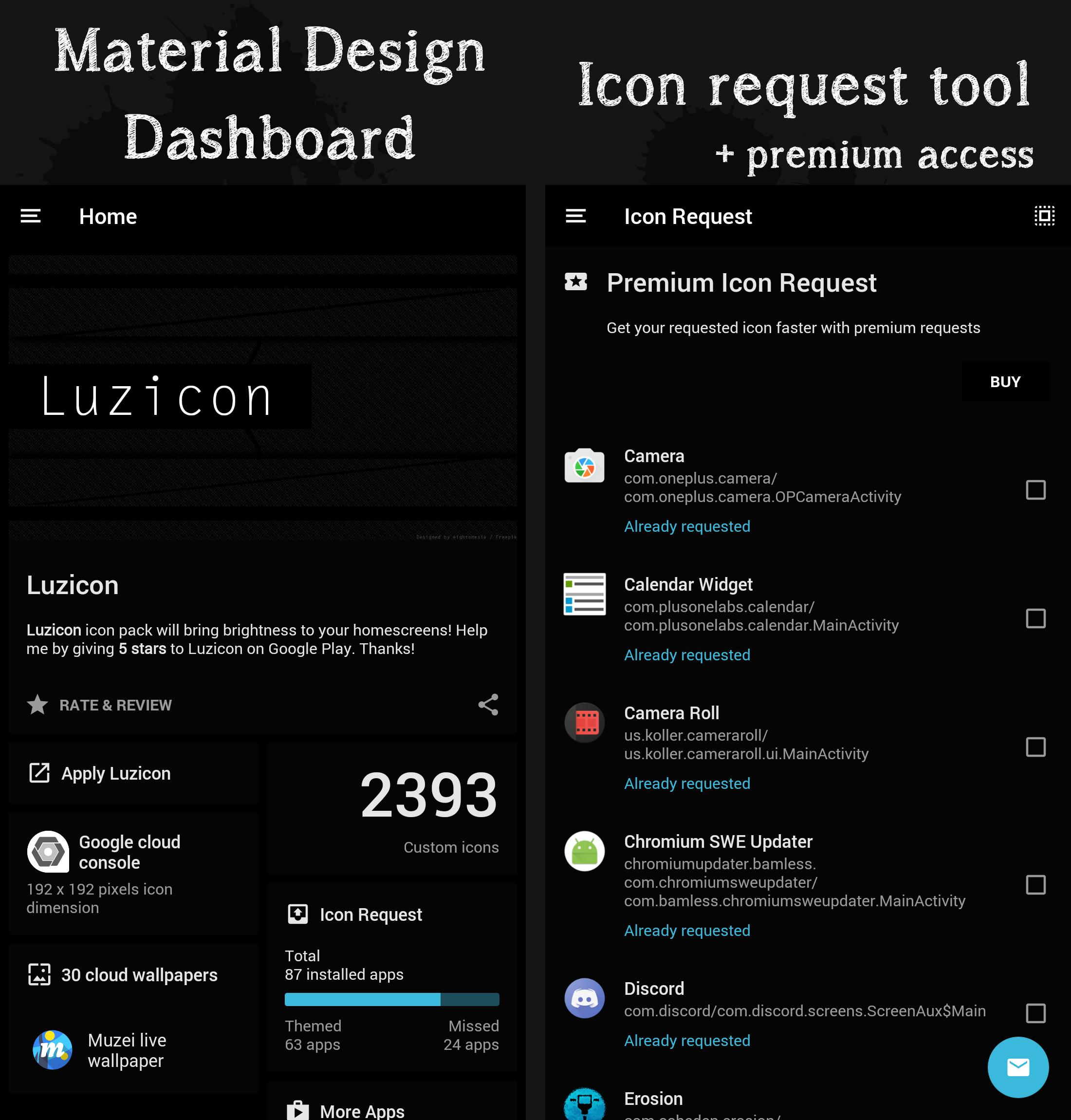 Luzicon Icon Pack for Nova/Apex/Evie/ADW launcher for Android - APK Download