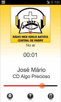 Rádio Web IBCP poster